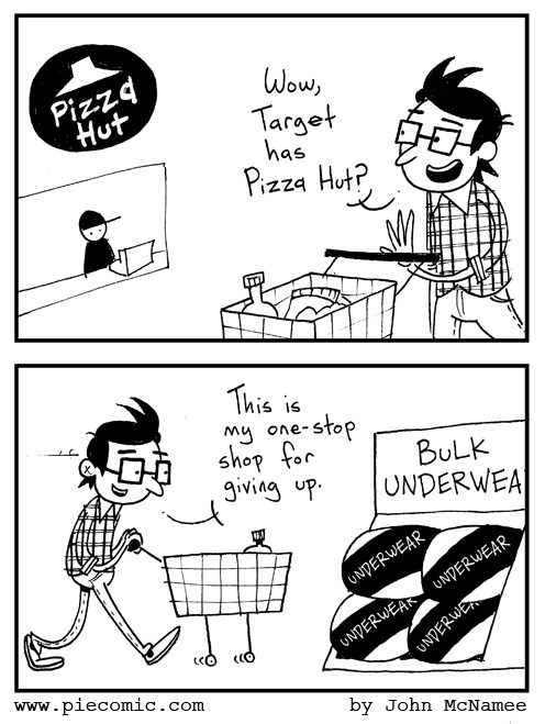 pizza Target web comics - 7991014912
