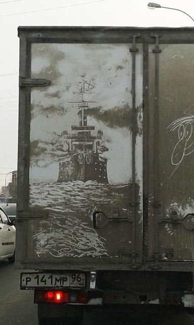 art dirt art hacked irl truck - 7991190272