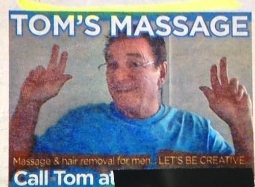 advertisement,accidental sexy,massage