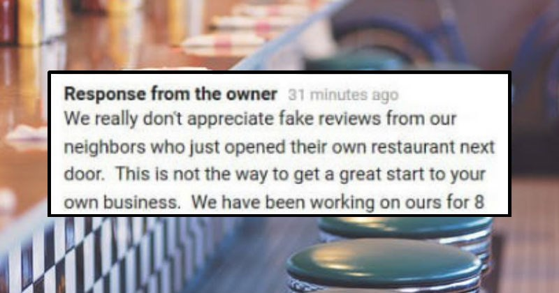 reviews review meal fake restaurant fries dumb food diner funny stupid - 7991557