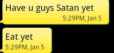 autocorrect,satan,text