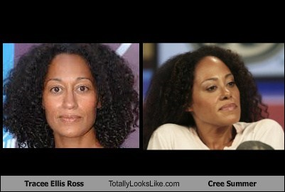 cree summer,totally looks like,tracee ellis ross