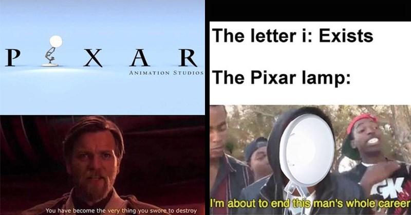 kids funny memes dank memes trending memes pixar pixar lamp kids movies twitter - 7992069
