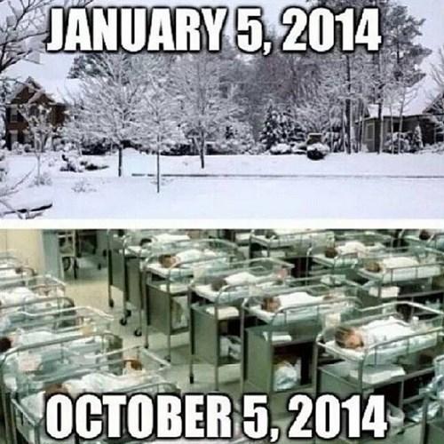 Babies snow storms parenting - 7992147456
