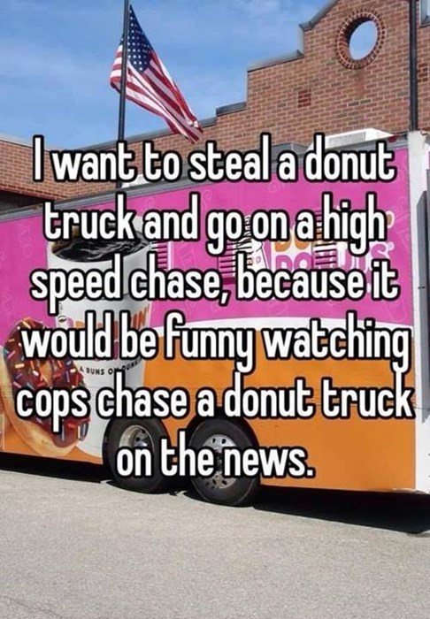 Sprinkle a Little Irony on Those Sprinkle Donuts