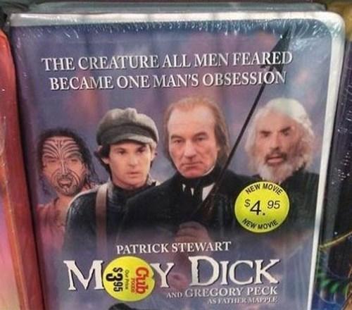 patrick stewart moby dick - 7992328960
