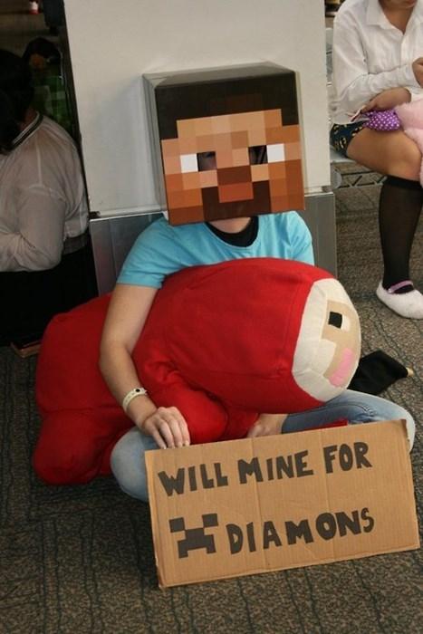 Homeless Miner