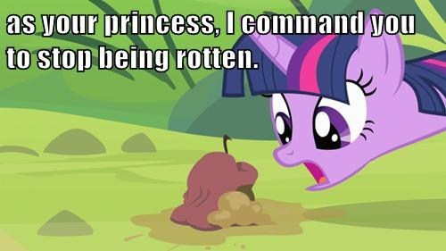 twilight sparkle,princess twilight,rotten apples
