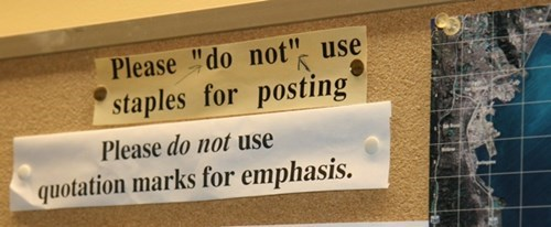 sign Quotation Marks