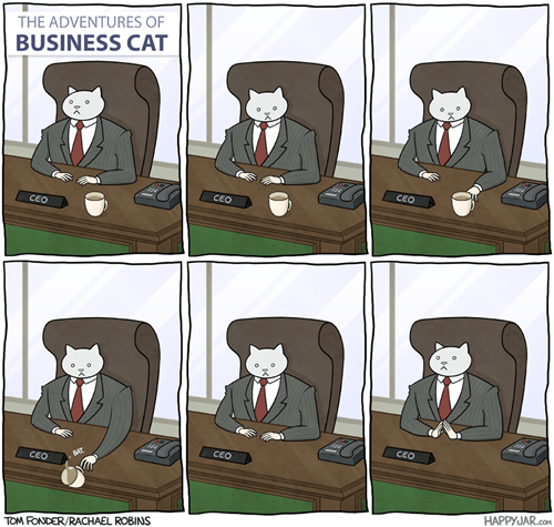 Cats,business,web comics