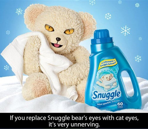 creepy laundry snuggle bear poorly dressed g rated - 7992610560