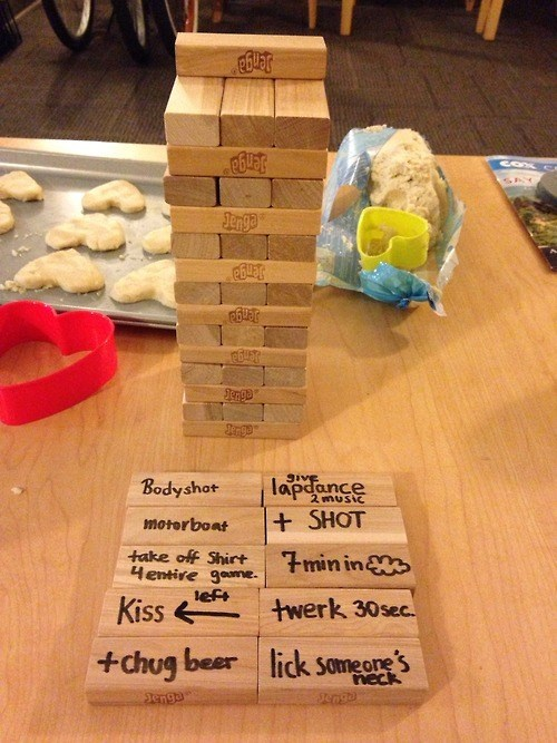 board games,sexy times,jenga,dating