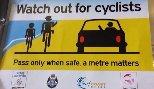 cars bikes sign the bird fail nation g rated - 7992614912