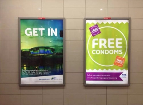 condoms free stuff sign - 7992623360