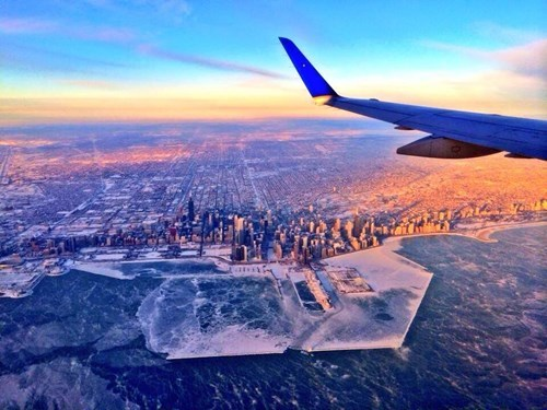 chicago frozen photography winter - 7992625920