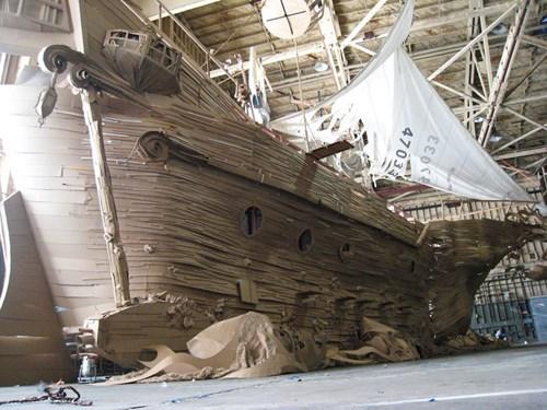 cardboard design ghosts pirates pirate ship - 7992629760