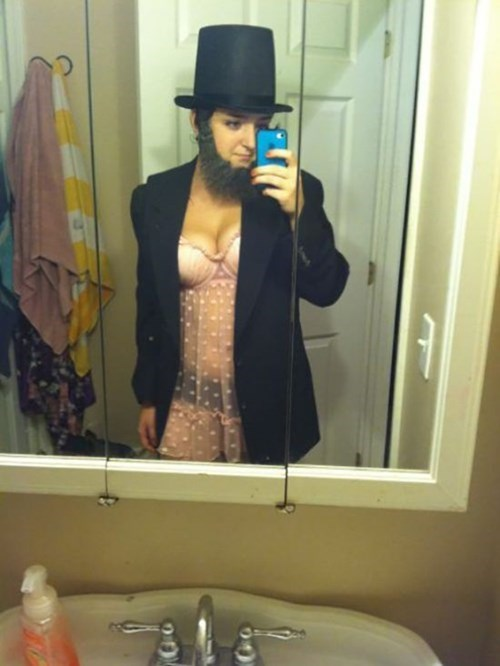 Abe Lincoln costume sexy times role play - 7992652544