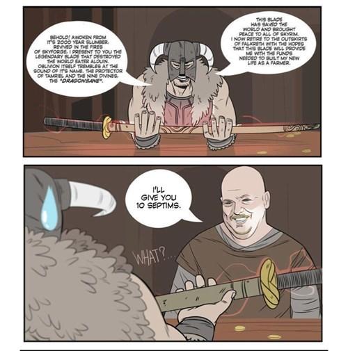 Skyrim,pawn stars,web comics