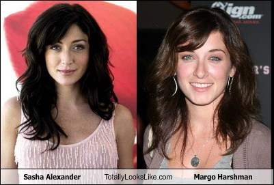 sasha alexander,totally looks like,margo harshman