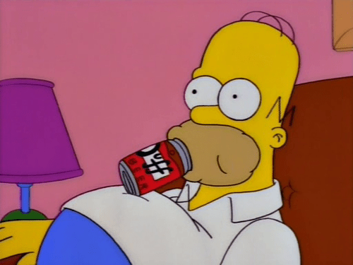 beer duff full simpsons homer - 7993726464