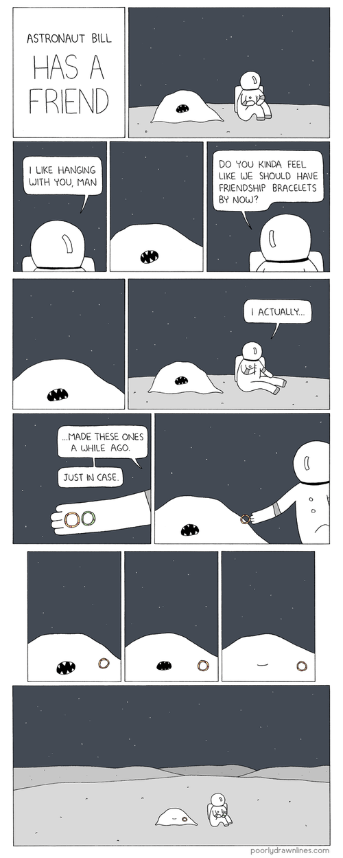 Space Can Be Lonely