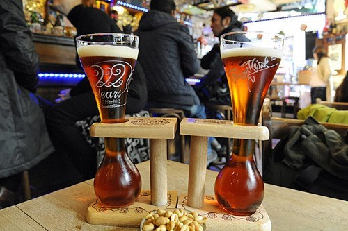 kwak glass,beer,coaster,funny