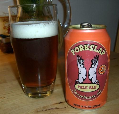 beer funny can design porkslap - 7993802752