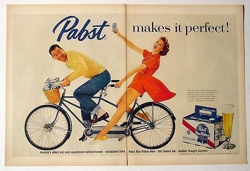 beer ads funny vintage pbr - 7993807616