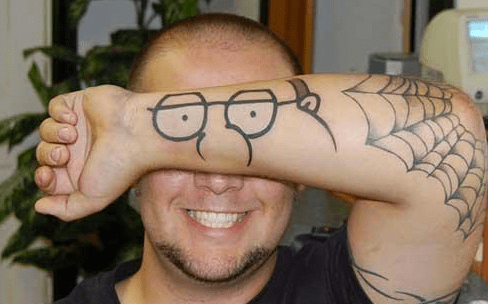 family guy,arms,tattoos
