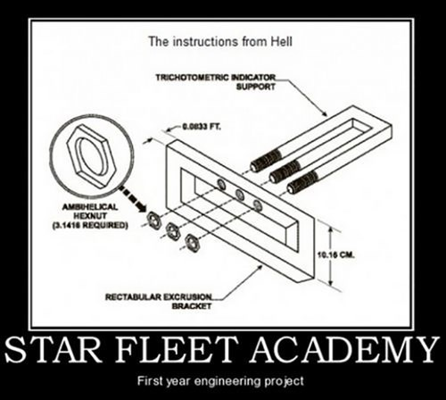 engineering kids funny Star Trek Star Fleet - 7993905664
