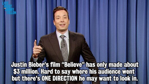 one direction jimmy fallon late night justin bieber - 7994098944
