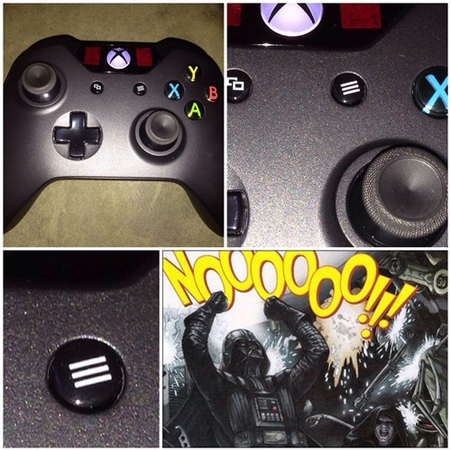errors,you had one job,mildly annoyed,controllers,xbox one