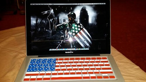 laptops,mac,murica