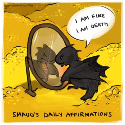 Fan Art The Hobbit smaug - 7994287360