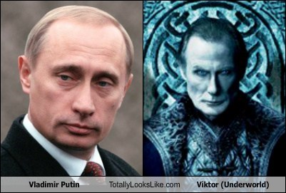 vladmir putin,underworld,totally looks like,viktor