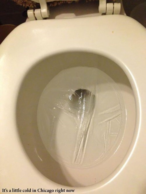 freeze,toilet,polar vortex