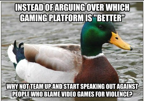 Actual Advice Mallard,this meme is being used wrong but whatever,gamers,Memes