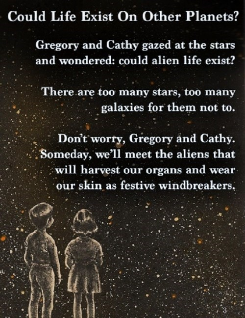 Aliens planets stars science funny - 7995392768