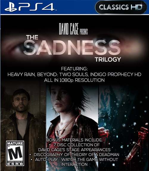beyond: two souls heavy rain classics david cage - 7995441664