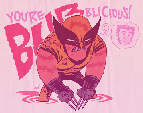 art,awesome,wolverine,funny,bub