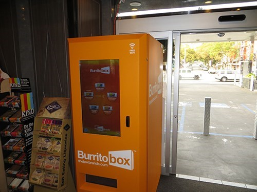 burrito Box vice vending machine weird - 7995476992