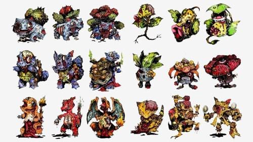 Pokémon,art,zombie