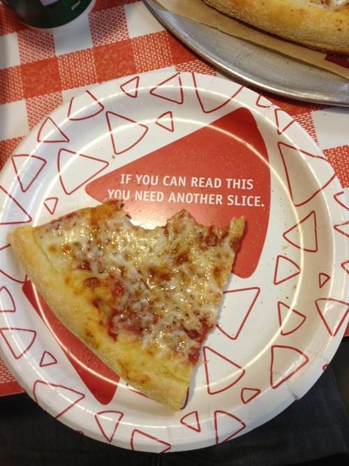 pizza plates food