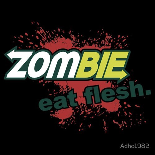 for sale t shirts zombie Subway