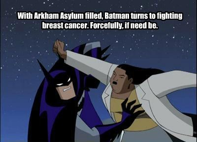 mammogram Breast Cancer batman - 7995542528