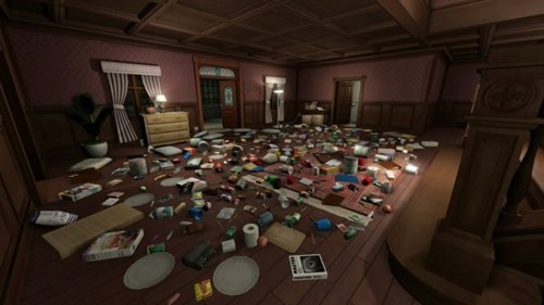 gone home,clutter,video games