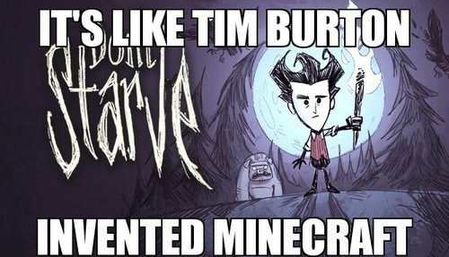 survival don't starve tim burton video games - 7995608832