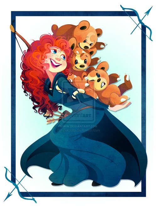 crossover,Pokémon,disney,disney princesses