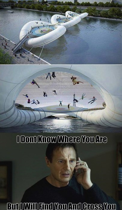 taken fun liam neeson Memes bridges - 7995886848