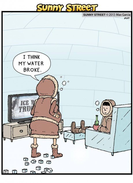 life pregnancy eskimos birth web comics